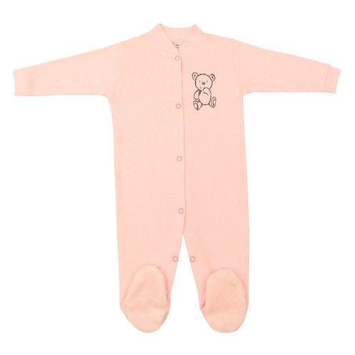 Baby Pajamas - Pink Bear