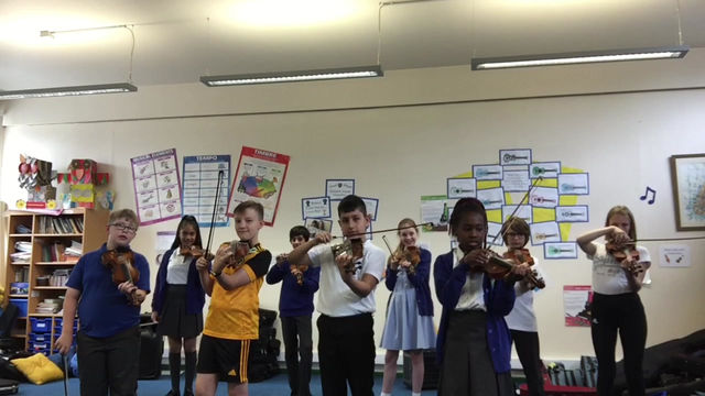 Year 6 Violinists