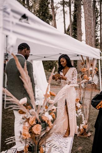 Backyard Boho Wedding