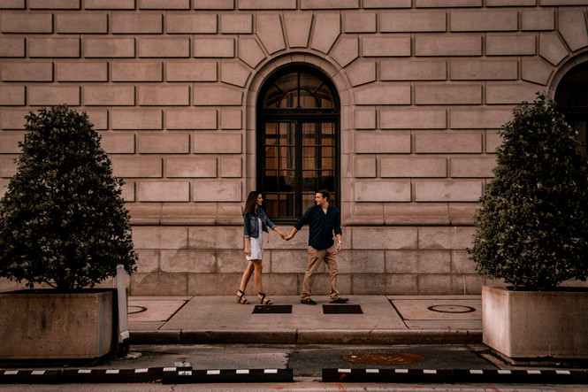Downtown Atlanta Engagement Photos