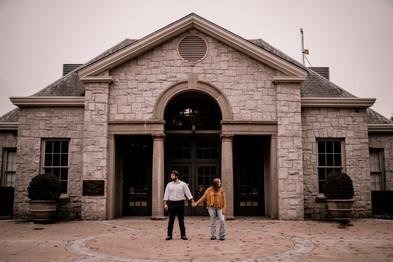 piedmont park engagement photos