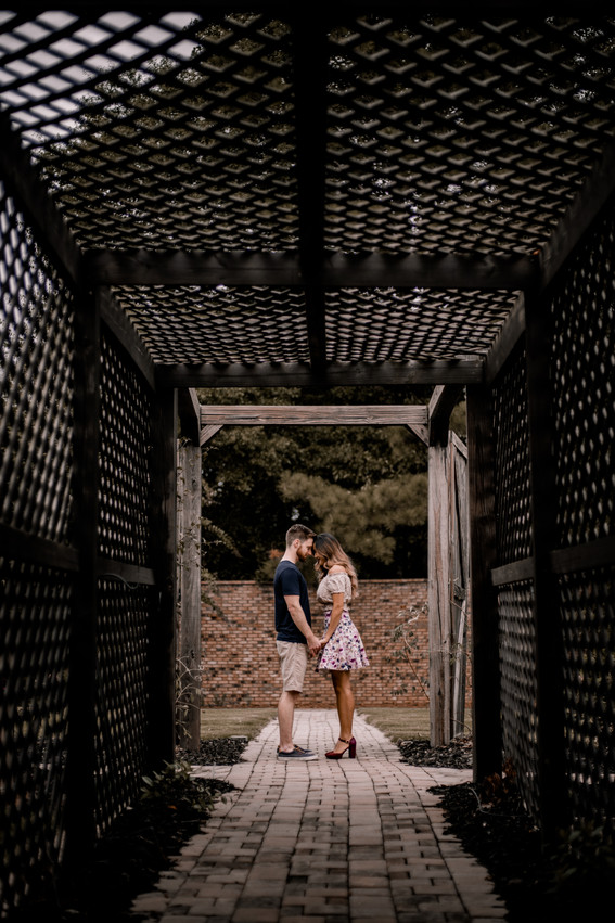 bullock springs manor engagement photos