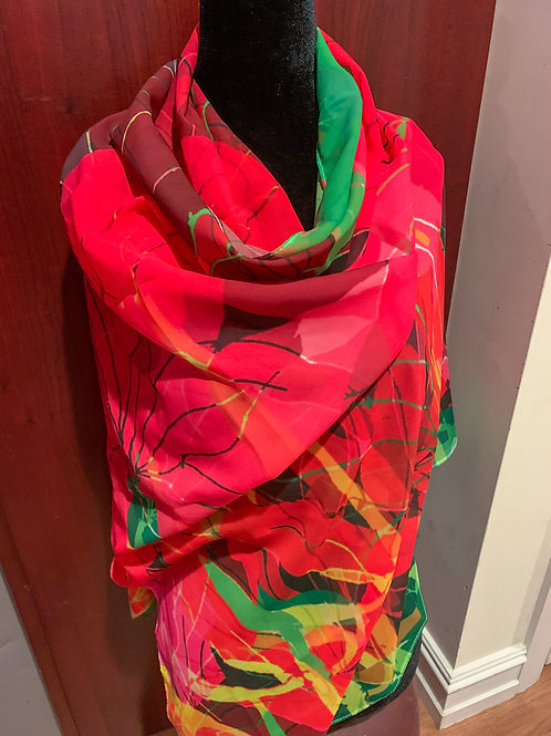"""""""Roses"""" Scarf"""
