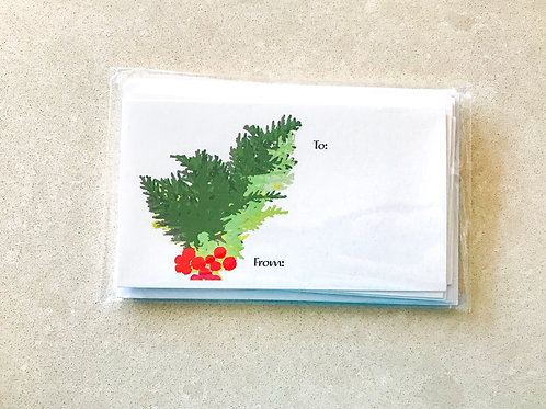 Mistletoe Gift Tags