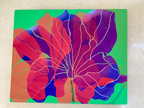 Double Vision Purple Flower