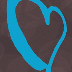 Black & Blue Heart