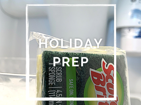 Holiday Season Prep- The Kitchen