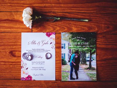 Allie + Gabe- Richwood on the River Wedding