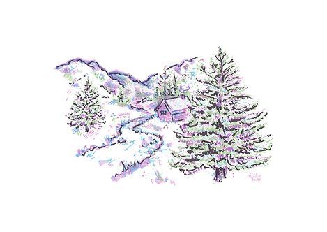 Christmas Card - Winter