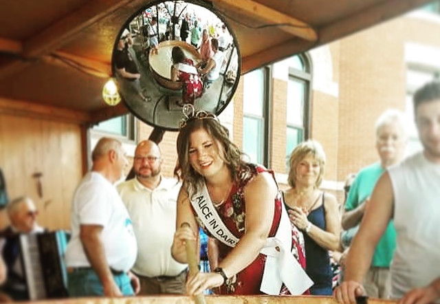 71st Alice in Dairyland at Green County Cheese days