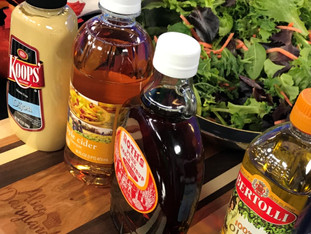 Think Spring! Wisconsin Maple Syrup Vinaigrette