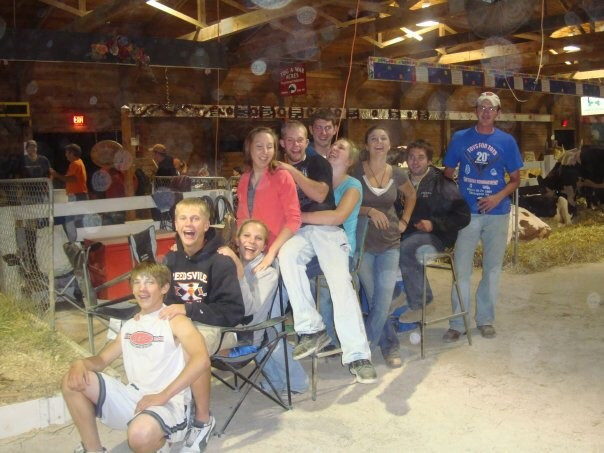 Friends and I at the Manitowoc County Fair