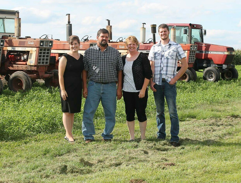 The Riley family of Crawford County.