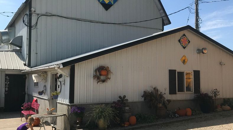 Green county barn quilt tour