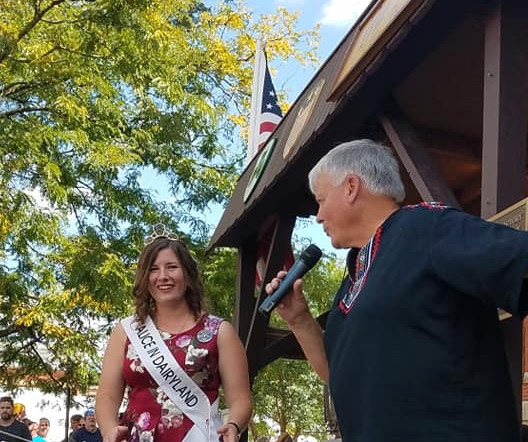 kaitlyn speaking at cheese days