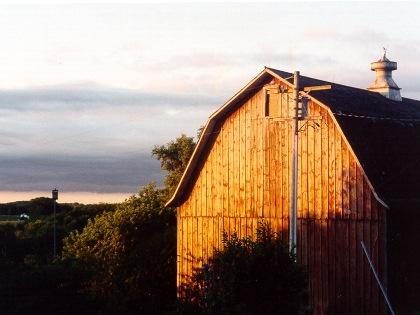 Wisconsin barnscape