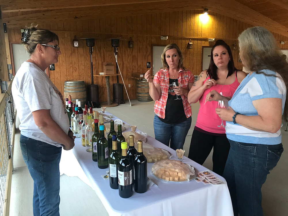 Wisconsin has nearly 100 wineries.