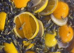 Freshly Brewed Iced Teas  [[Lavendar & Orange]]