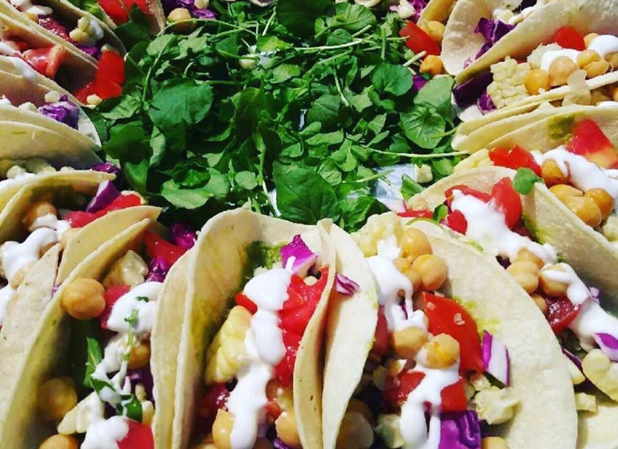 Rainbow Tacos / Catering Tray