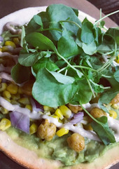 Curry Flatbread