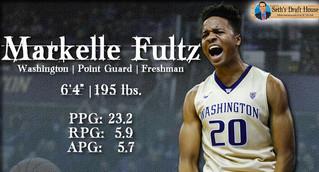Seth's Draft House: Markelle Fultz Mock Draft Profile