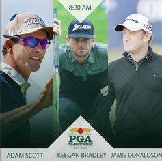 2016 PGA: 2016 PGA Championship Grouping Graphic