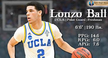 Seth's Draft House: Lonzo Ball Mock Draft Profile