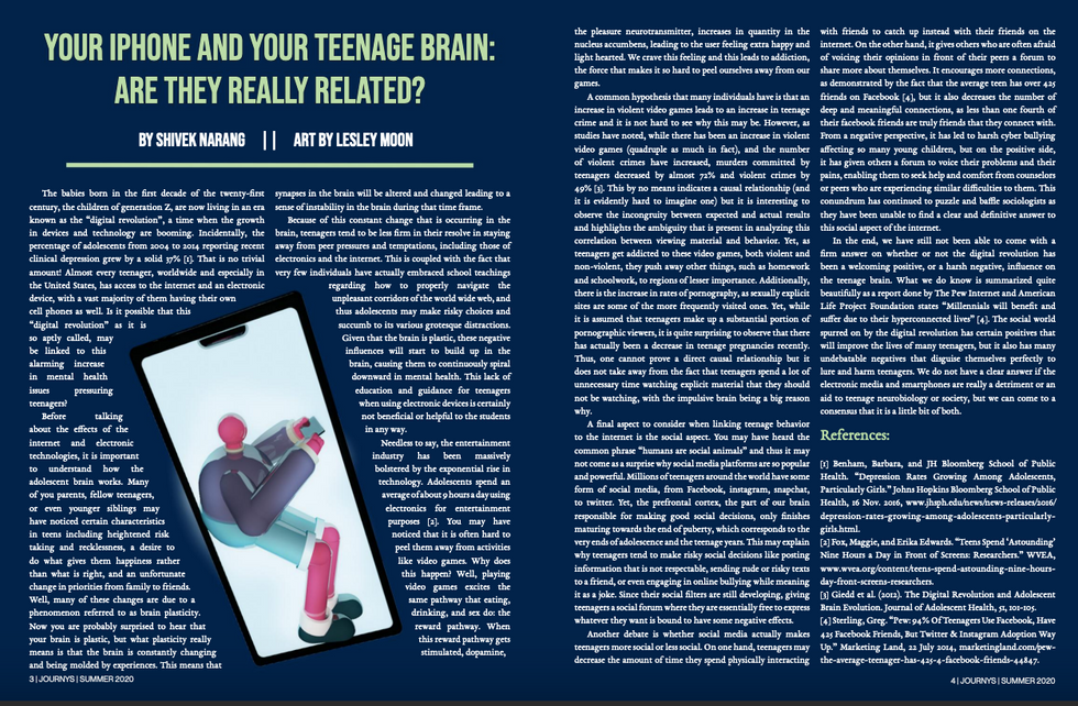 Your iphone and your teenage Brain: Are they really related?