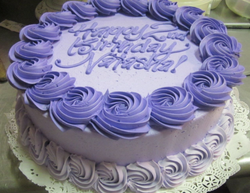 Big Rosette Border Cake