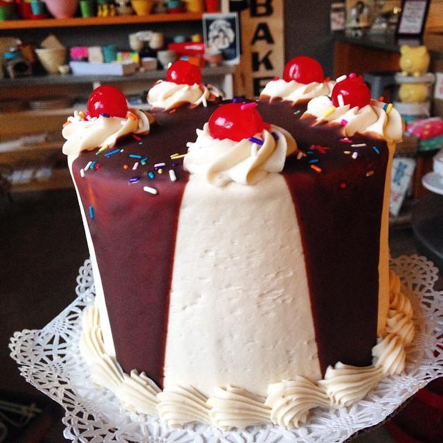 Sundae Cake