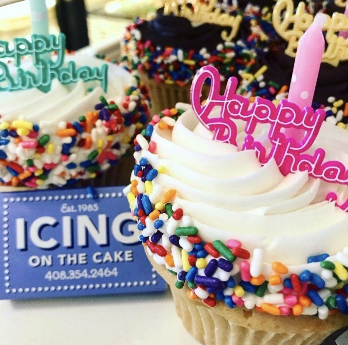 """It's My Birthday"" Cupcake"