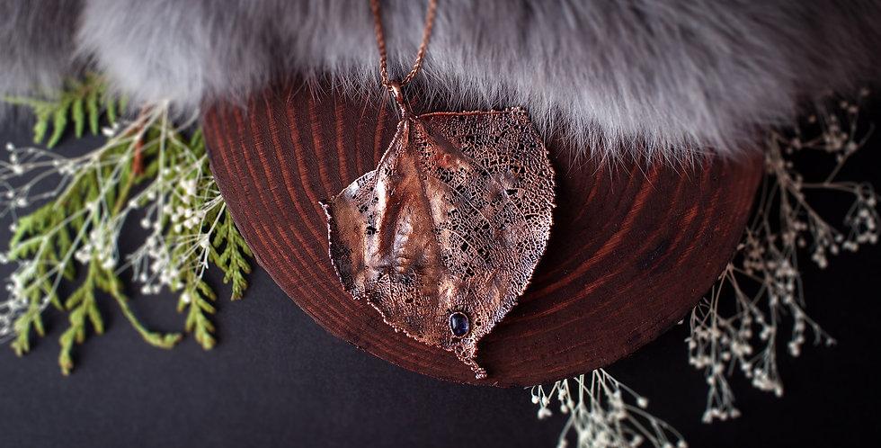 Skeleton Leaf Necklace