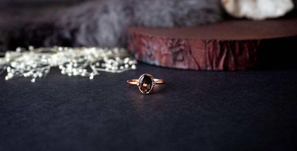 Smoky Quartz Ring - Size 7 1/4
