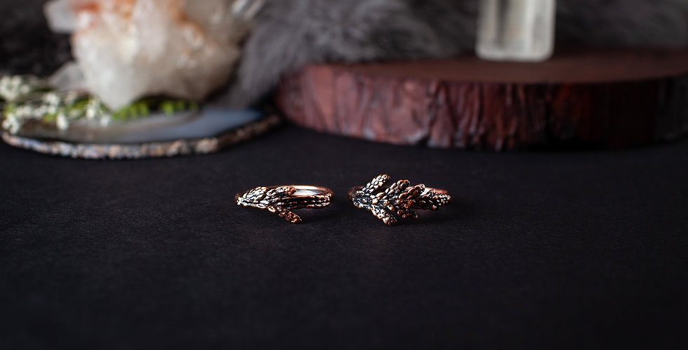 Copper Nature Ring
