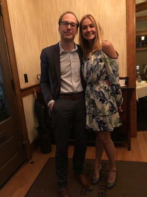 Celebrating one year of dating