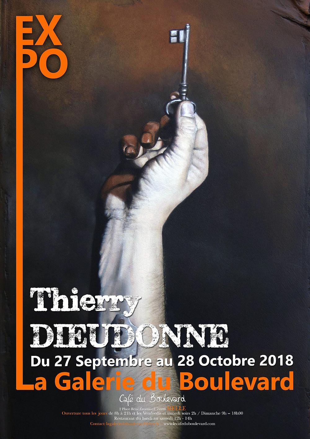 Exposition de Thierry Dieudonné à La Galerie du Boulevard 2018