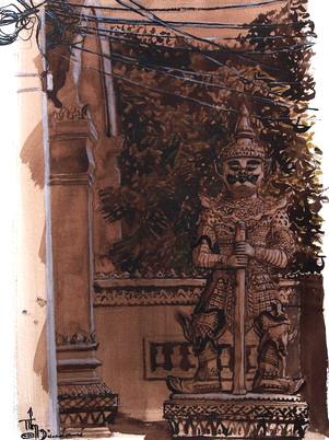 Gardien de Battambang