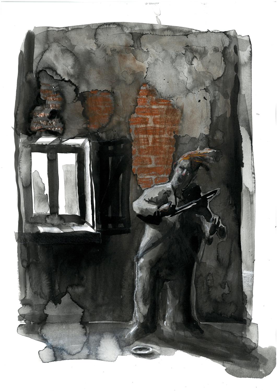 Le musicien de la ruelle