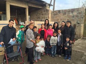 Eight Children In Shahumyan Village Receive Assistance