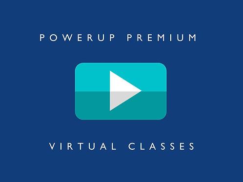 PowerUp® Premium Virtual Classes - System Access