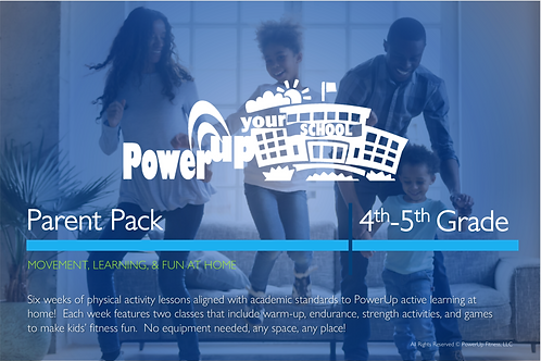 4th-5th: PowerUp Your School® Parent Pack