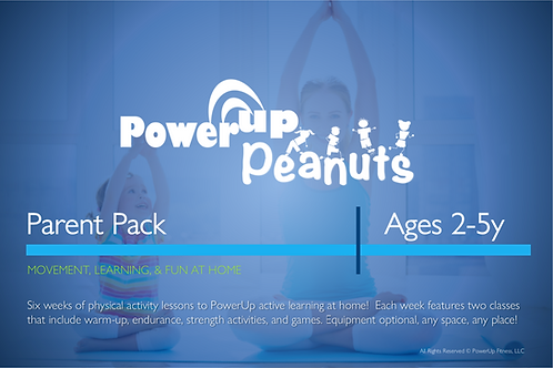 PreK: PowerUp® Peanuts Parent Pack