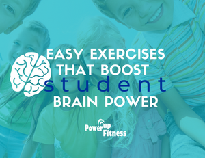 PowerUp Fitness - Easy Exercises that Boost Brain Power