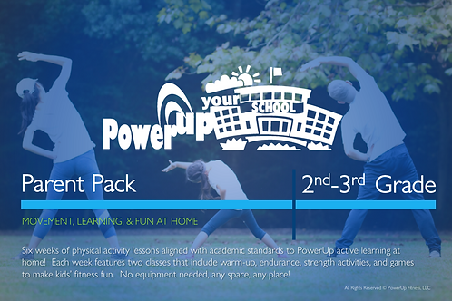 2nd-3rd: PowerUp Your School® Parent Pack