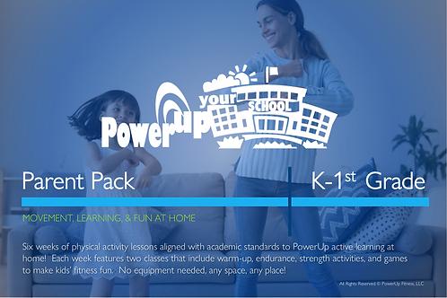 K-1st: PowerUp Your School® Parent Pack