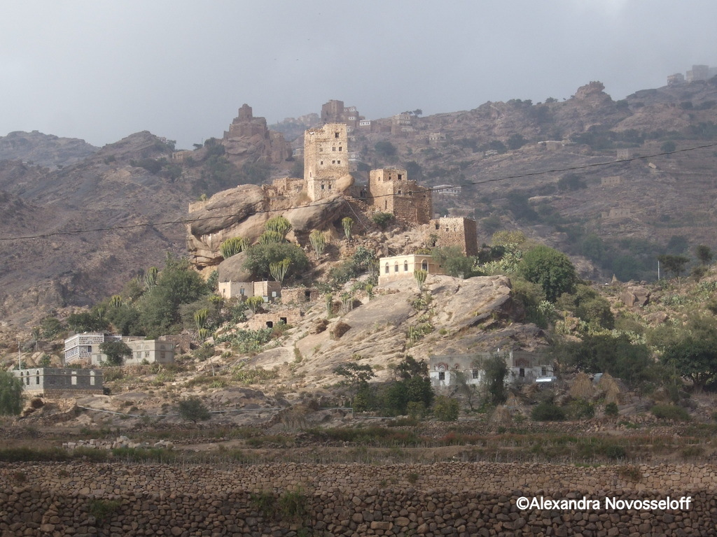 78-Moutain village - North West Yemen