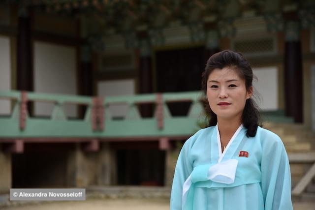 Guide nord-coréenne