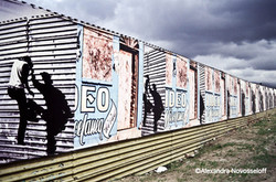 08-Tijuana_Border Art_Fake Climbing_2006