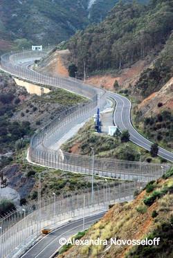 01-Ceuta_Vue sur le mur_2007