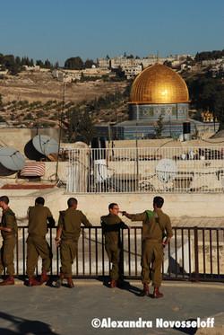 57-AN-Palestine-Jérusalem-Soldats israéliens_2010